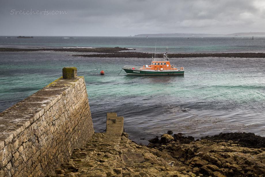 Das Seenotrettungsboot der Ile de Sein