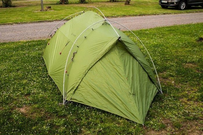 Mein Zelt von VAUDE. Mel sehen, wie es sich in Schottland schlägt