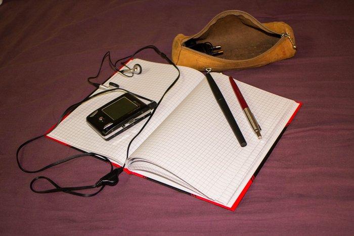Tagebuch und Unterhaltung