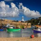 St. Ives Lighthouse, Cornwall, Großbritannien