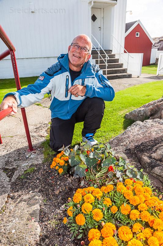 Rolf Dybvig, der Leuchtturmwärter von Lindesness