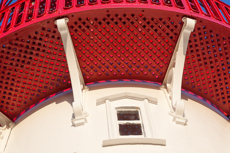 Detail des Leuchtturms Lindesness