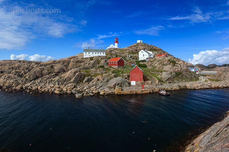 Blick zur Leuchtturminsel