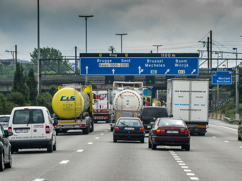 Verkehr in Holland