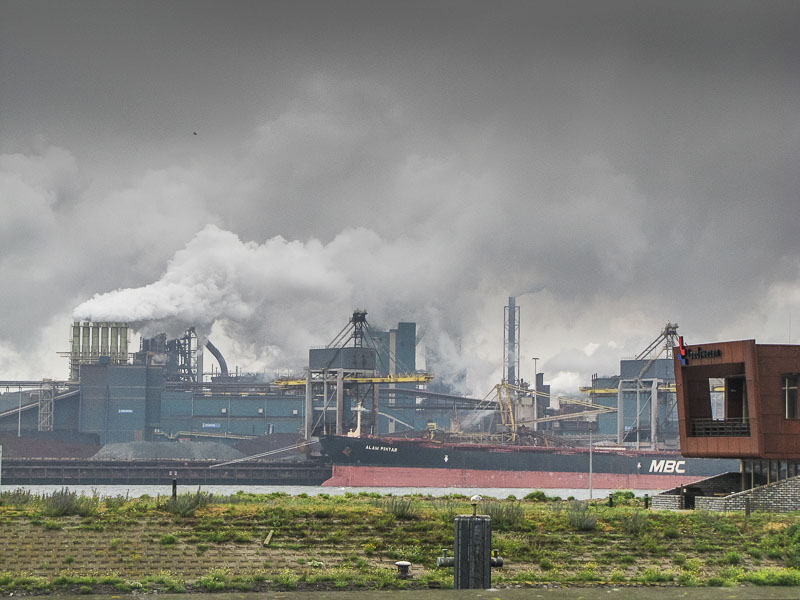 Der Hafen von Ijmuiden