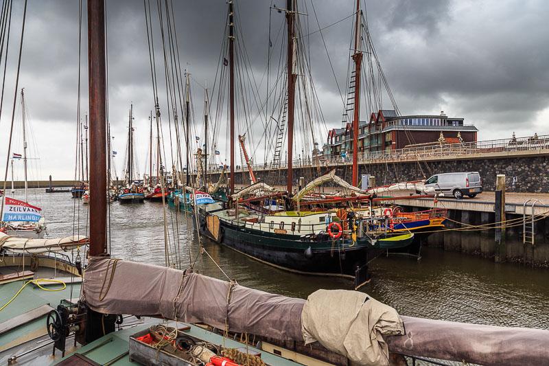 Im Hafen von Harlingen
