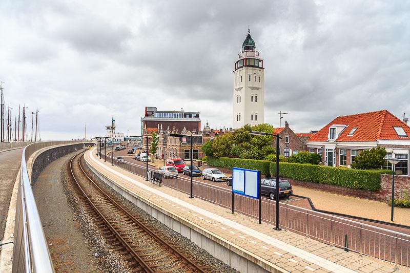 Der Leuchtturm in Harlingen