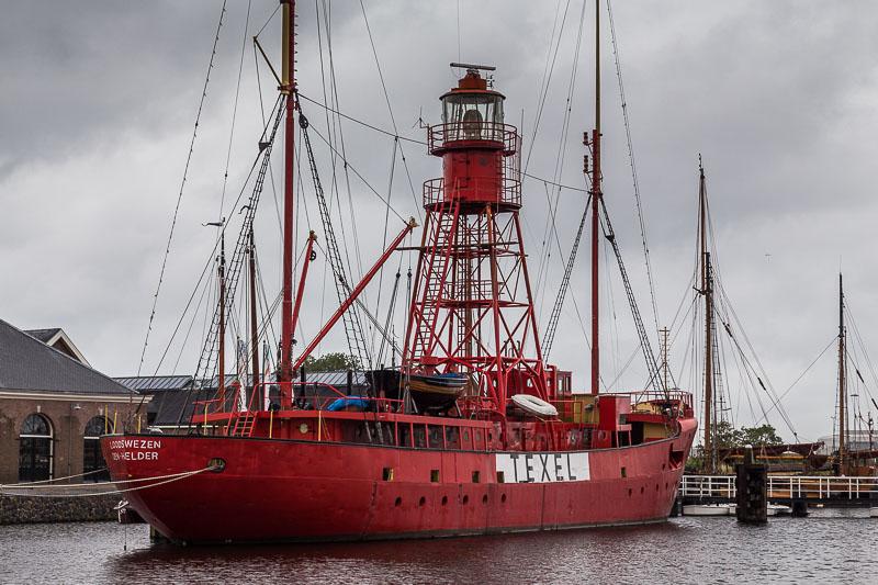 Das Leuchtturmschiff von Texel