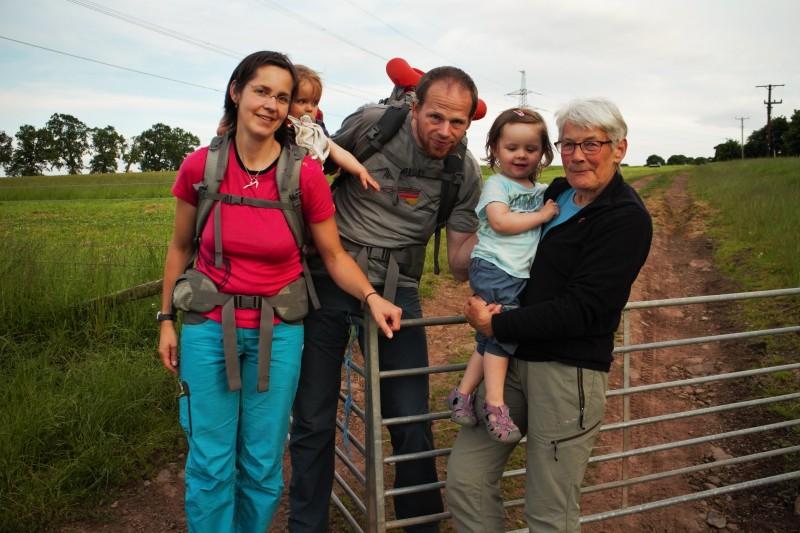 Marina, Klaas, Val, und die beiden kleinen