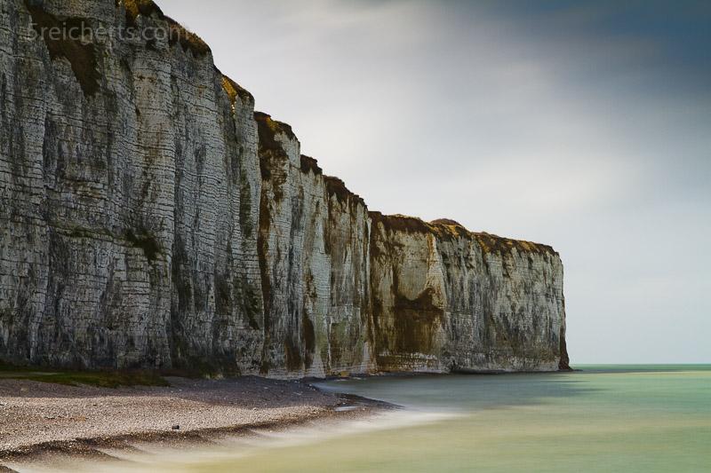 Kreideküste in St Valery