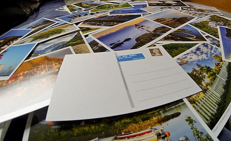 Postkarten aus dem Sehnsuchtkalender Norwegen