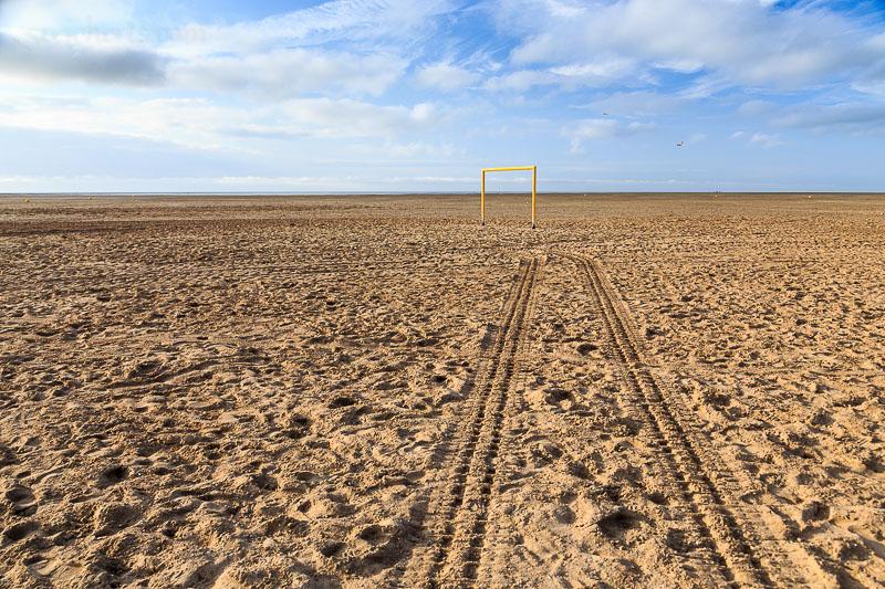 Am Strand von Graveline