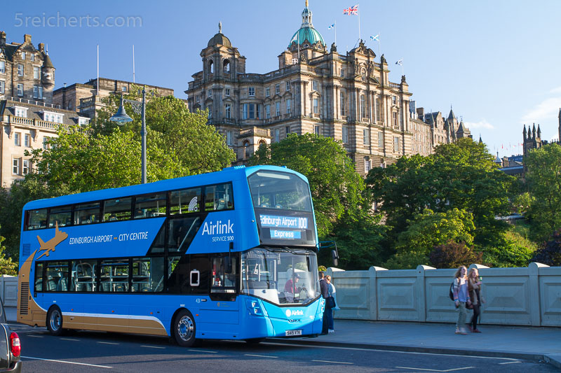 Bus in Edinburgh