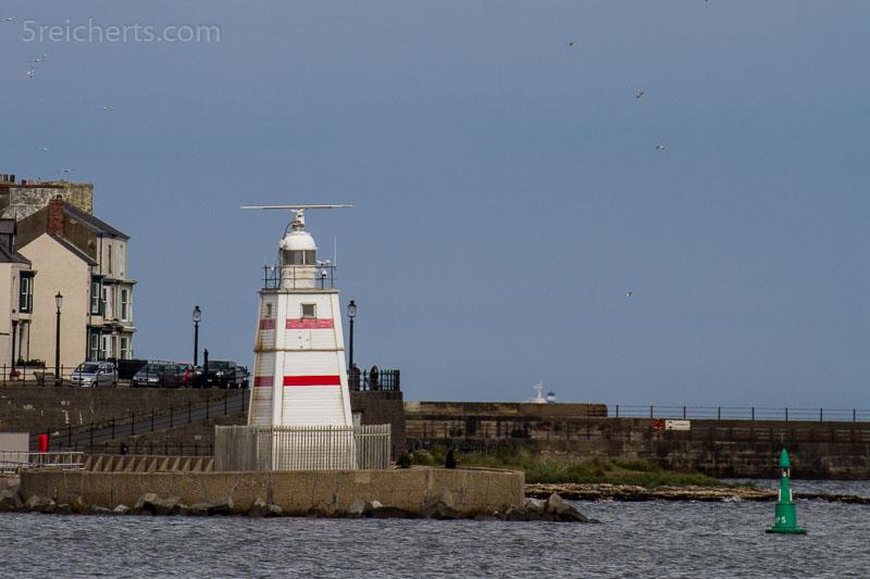kleiner Turm im Hafen von Hartlepool