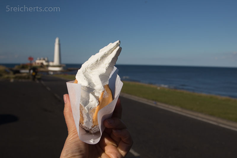Lecker Eis - das hier nennt sich kleine Auster