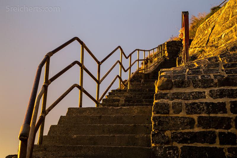 Treppe zum Strand