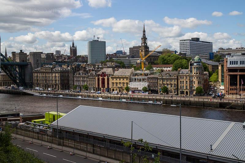 Newcastle ist gleichzeitig eine alte und eine lebendige Stadt