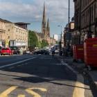 In den Strassen Glasgows