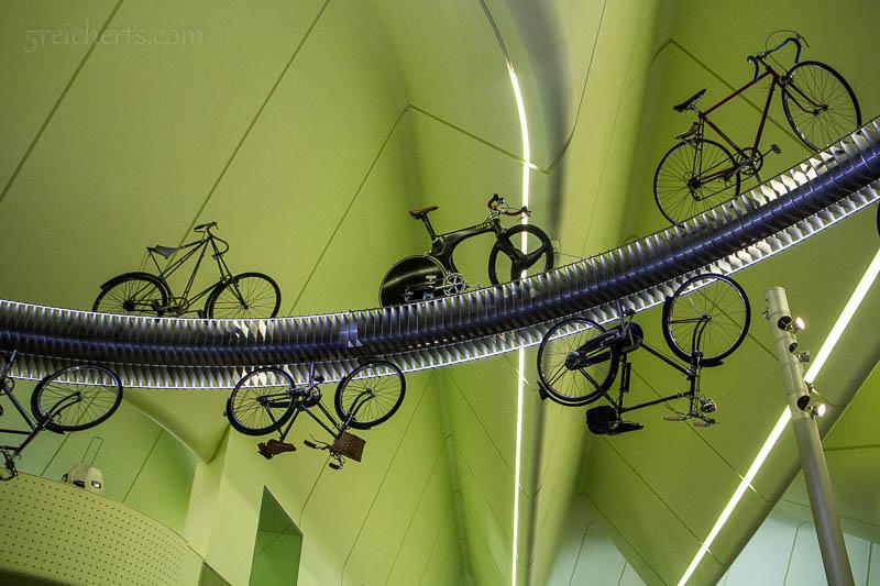 Fahrräder im Transportmuseum!