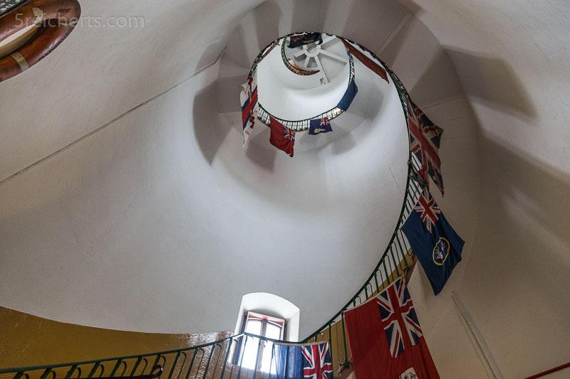 Treppenhaus des Withernsea Leuchtturms