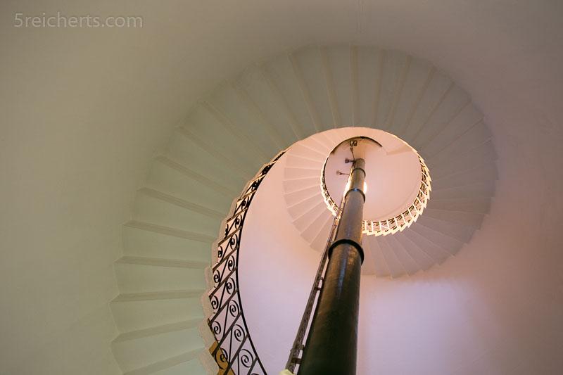 Treppenhaus Flamborough Leuchtturm