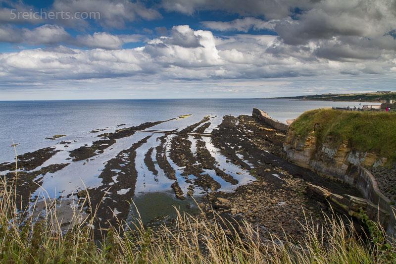 Küstenlinie in St Andrews