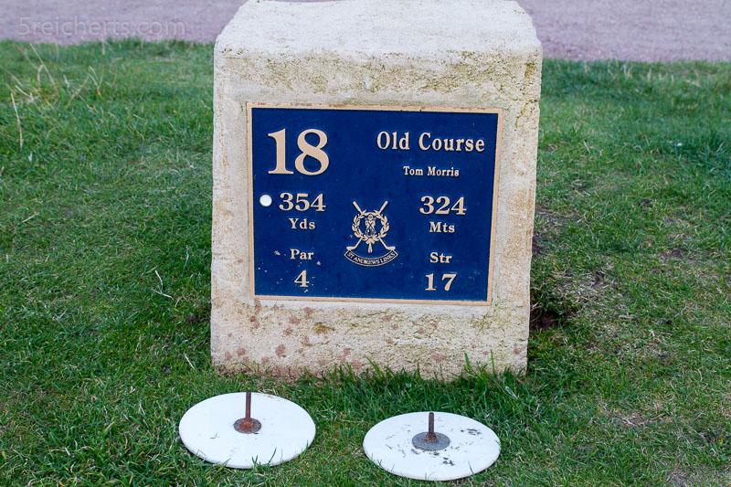 Golfplatz St Andrews