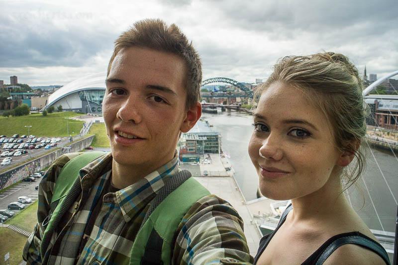 Wieder in Newcastle mit Alicia, bei der ich ein paar Tage verbrachte