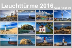 Leuchtturm Kalender bei Delius Klasing, 2016