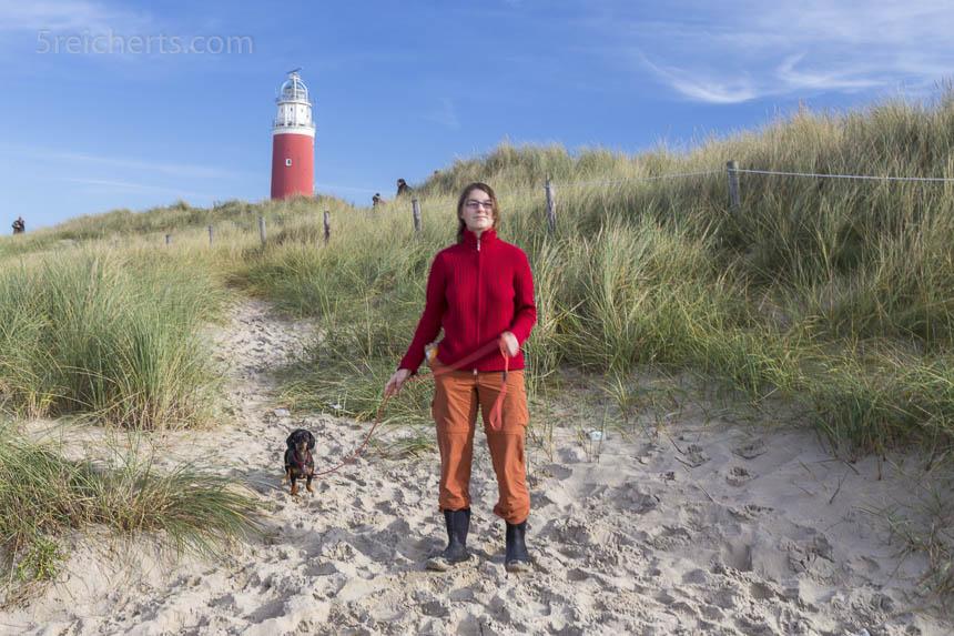 Grindel, Amy und Leuchtturm, Texel