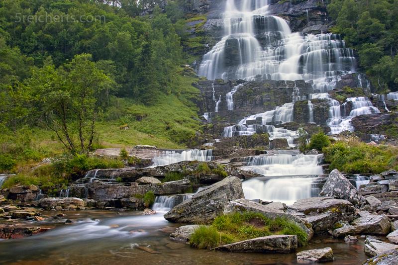 Tvindefossen, Norwegen
