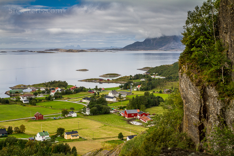 Tonnes, an der RV 17, Norwegen
