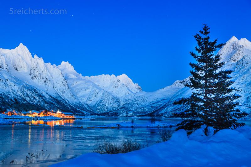 Blaue Stunde, Lofoten