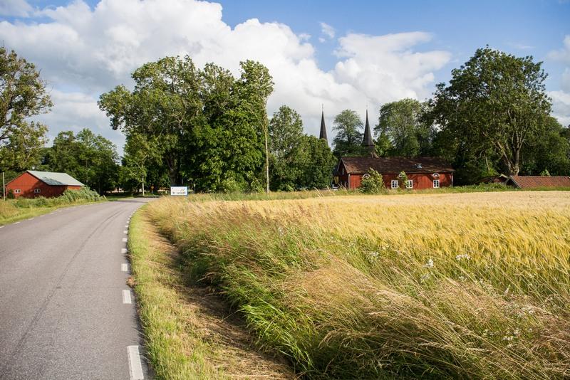 Ah, Schweden! Hier mach Radfahren richtig Spaß. Fiesen Wind oder hohe Berge machten mir hier nur selten das Leben schwer.