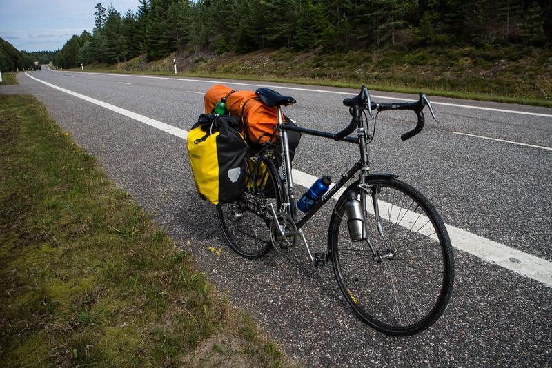 Mein treues Rad, lief die ganze Reise über ohne Probleme.