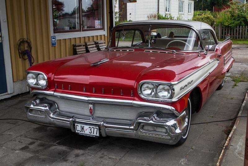 Alte amerikanische Autos sind in Schweden sehr beliebt.