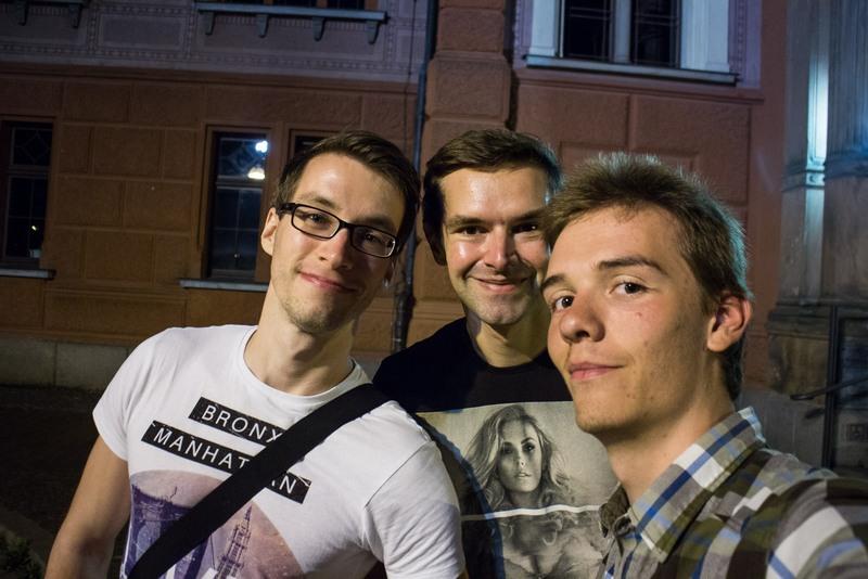In Rostock verbrachte ich einige Tage bei Clemens und Sebastian.