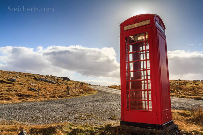 Telefonzelle, Isle of Lewis