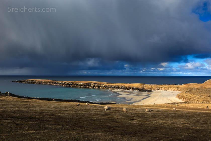 Breckon Sands, Insel Yell, Shetland