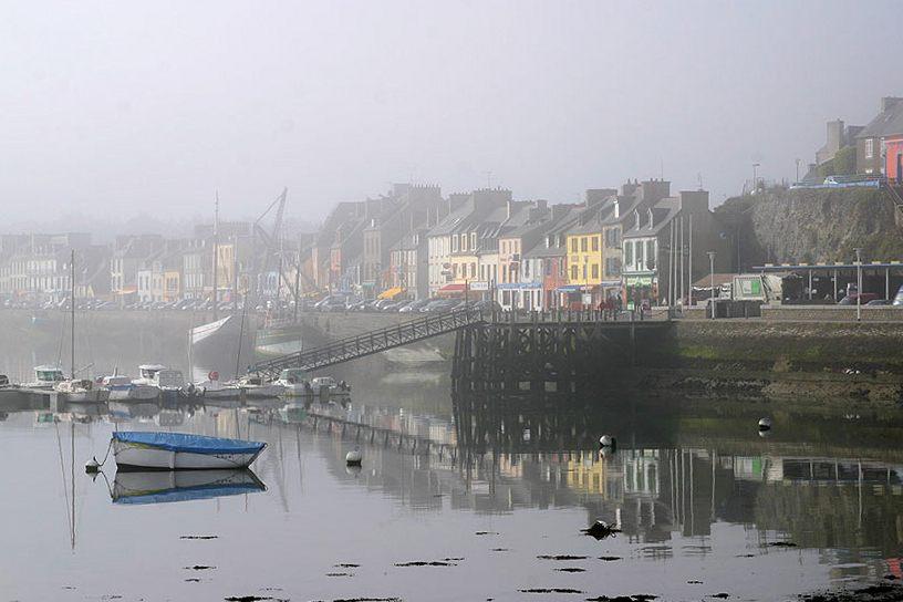 Morgennebel im Gegenlicht. Wie Regen malerische Szenen erzeugt, haben wir an der Burgruine gesehen. Auch Nebel eignet sich hervorragend für außergewöhnliche Bilder. Im Gegenlicht kommt die Tiefe, der perspektivische Eindruck, gut zur Geltung.