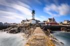 Hafenleuchtturm Men Brial, Île de Sein, Bretagne