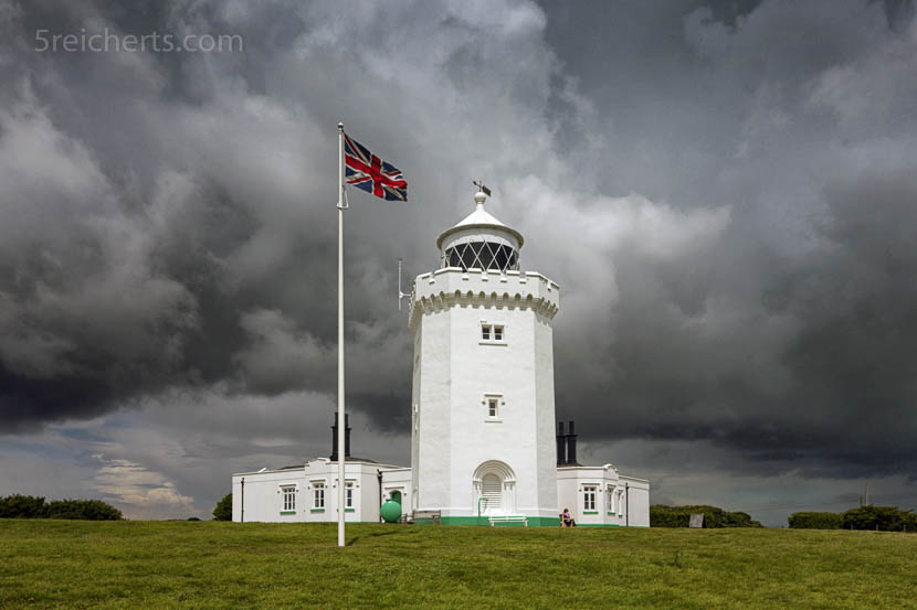 South Foreland Lighthouse, Dover, Südengland, Great Britain