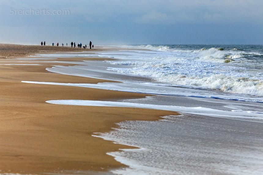 Weiter Strand auf Sylt