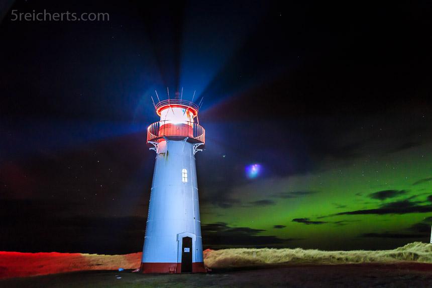 Nordlicht auf Sylt
