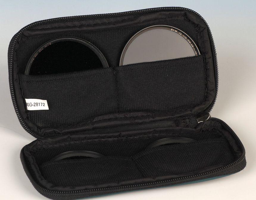 In Filtermäppchen sind die Filter gut geschützt aufbewahrt und schnell zur Hand.
