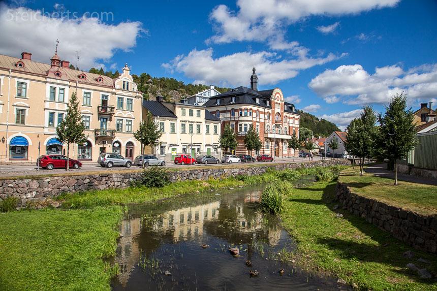 Einkaufsstraße in Söderköping