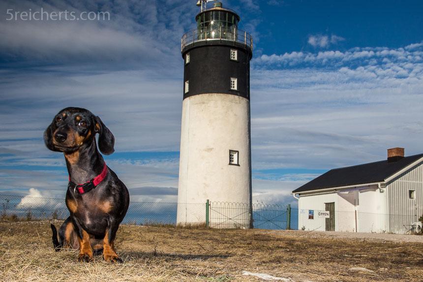 Das typische Grindel Leuchtturmfoto - Hoburg, Gotland