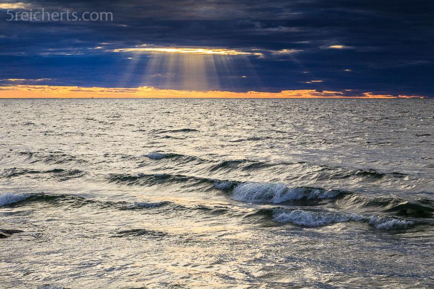 Sonnenuntergang im Süden Gotlands