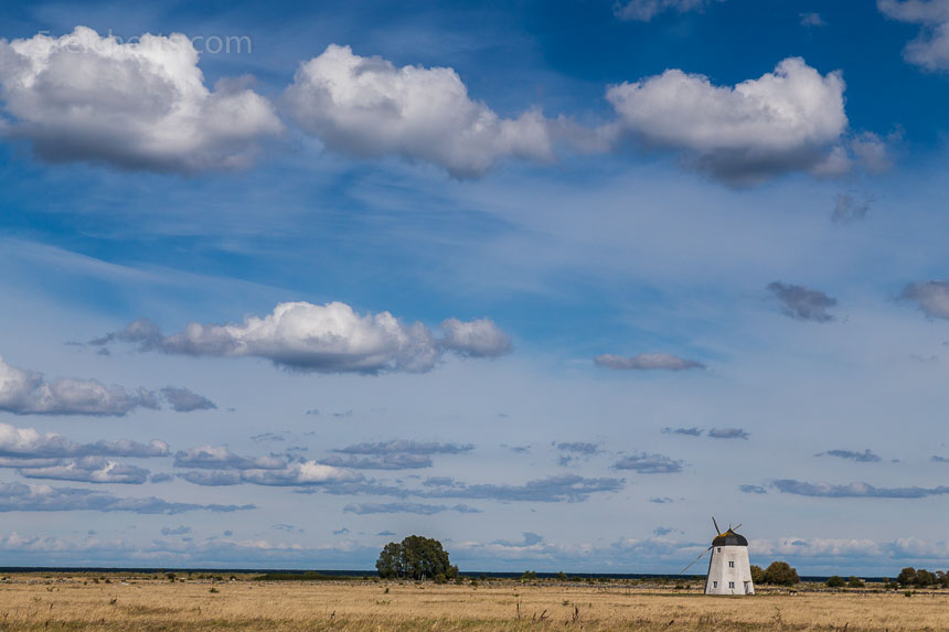 weiter Blick - kleine Windmühle