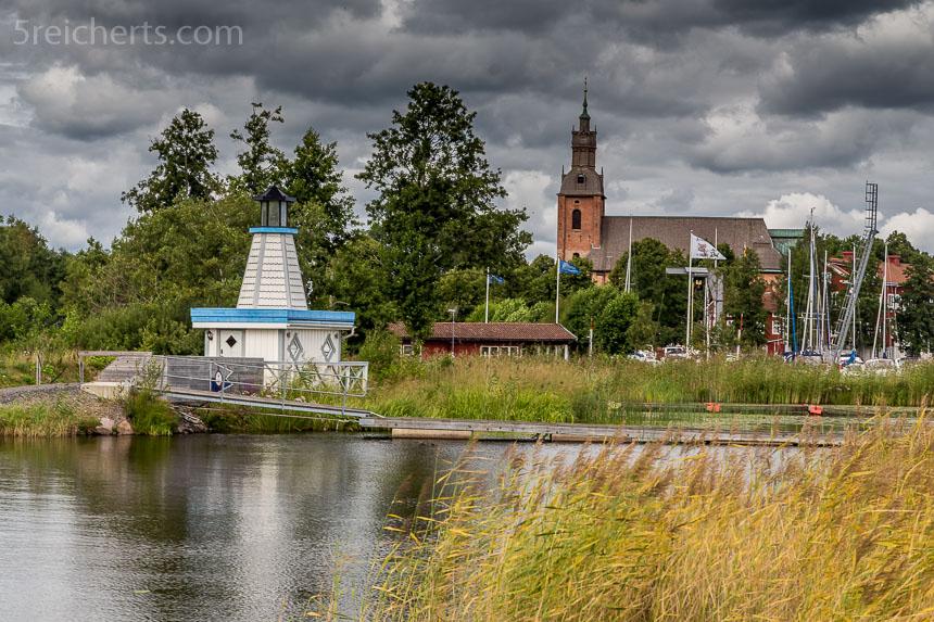 kleiner Leuchtturm in Askersund